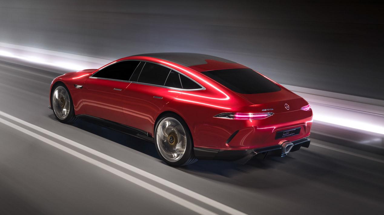 Mercedes AMG GT Concept, sus fotos y datos