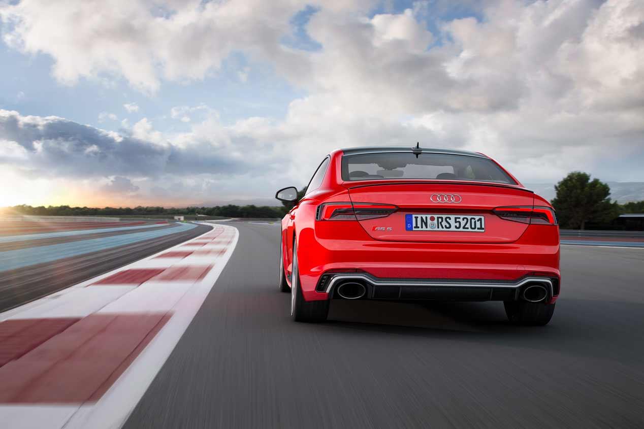 El deportivo Audi RS 5 Coupé 2017, en fotos