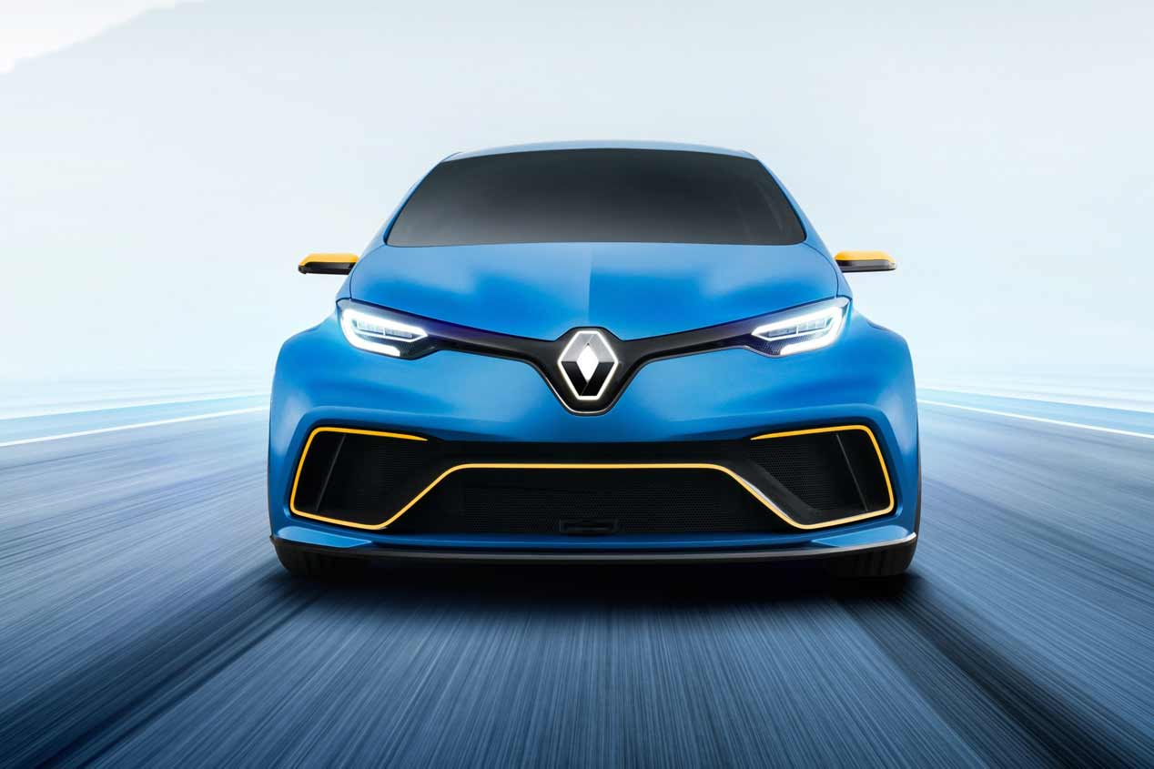 Renault Zoe e-Sport  Concept en el Salón de Ginebra 2017