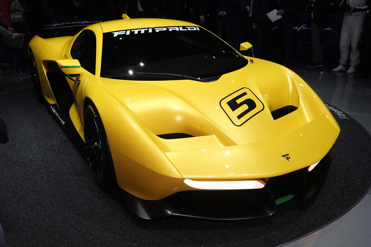 Pininfarina Fitipaldi EF7 Vision Gran Turismo, en fotos
