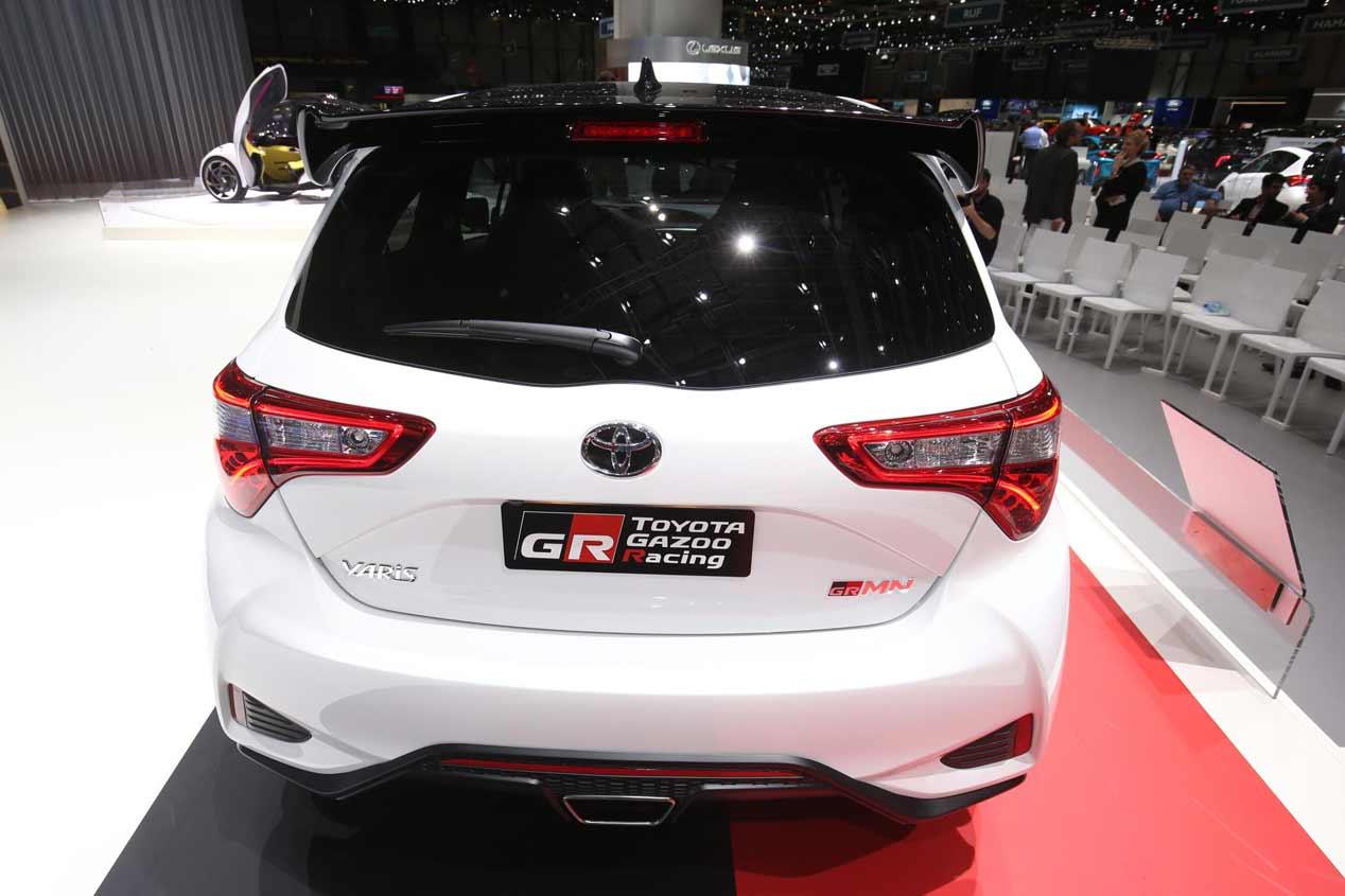 Toyota Yaris GRMN, sus mejores fotos
