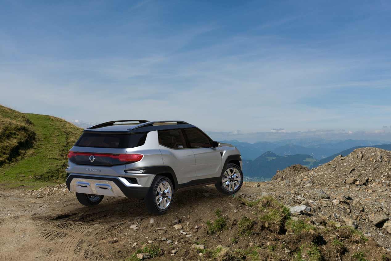 Ssangyong XAVL. las mejores fotos de un interesante SUV