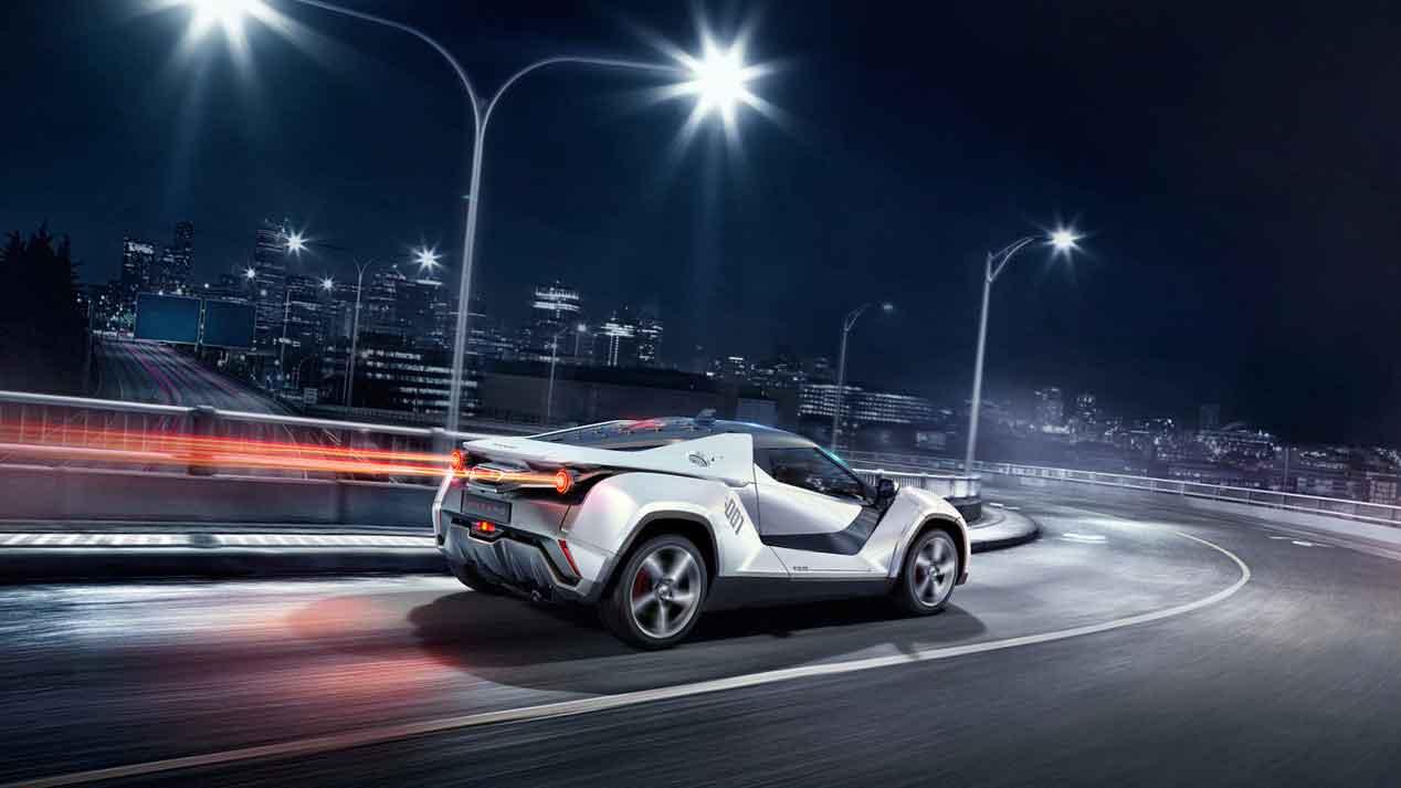 Tamo Racemo, el deportivo tecnológico con el que Tata Motors estrena marca y modelo