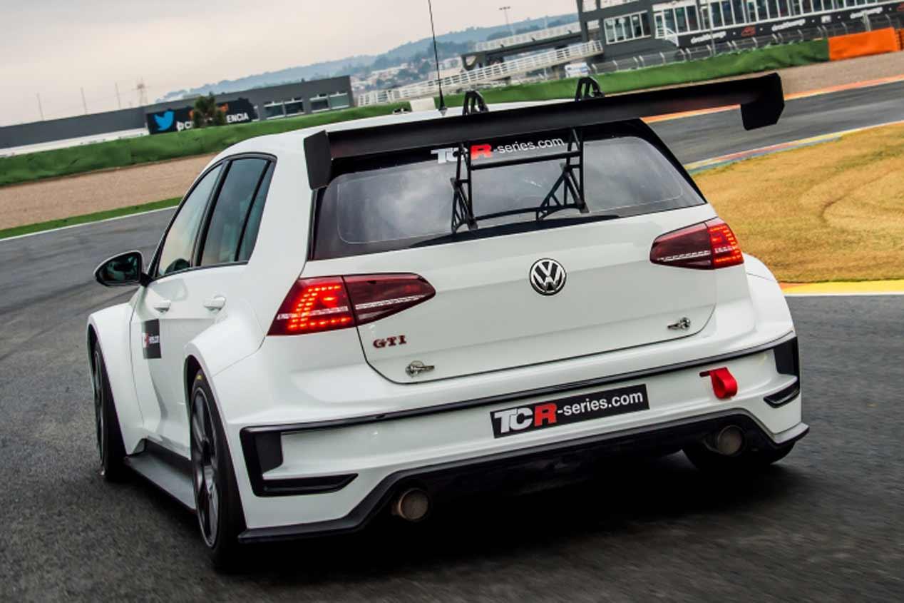 El VW Golf GTI TCR 2017, en fotos