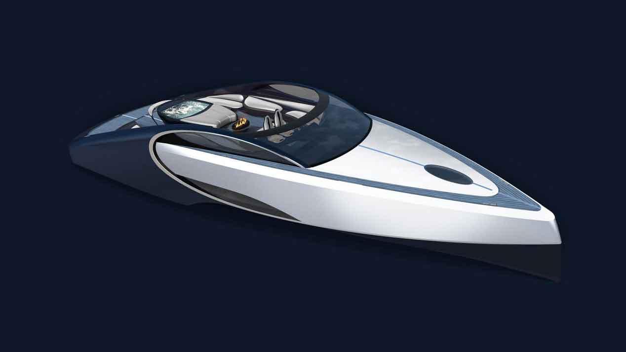 El Bugatti Chiron llega en forma de barco