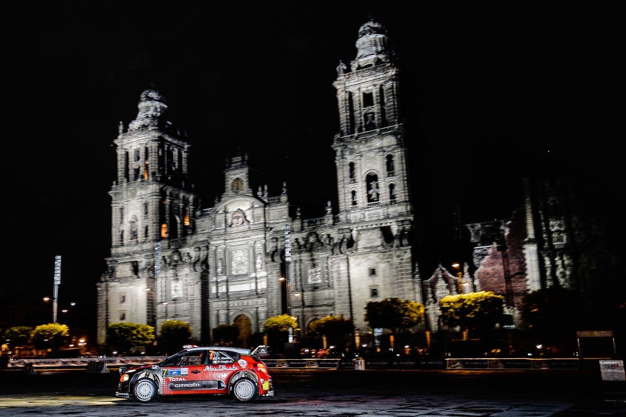 Rally de México 2017: la primera de Meeke y el Citroën C3 WRC