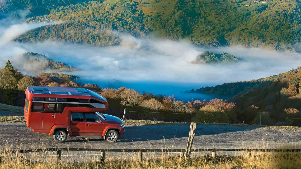 Viajamos por el mundo en un VW Amarok Canyon adaptado
