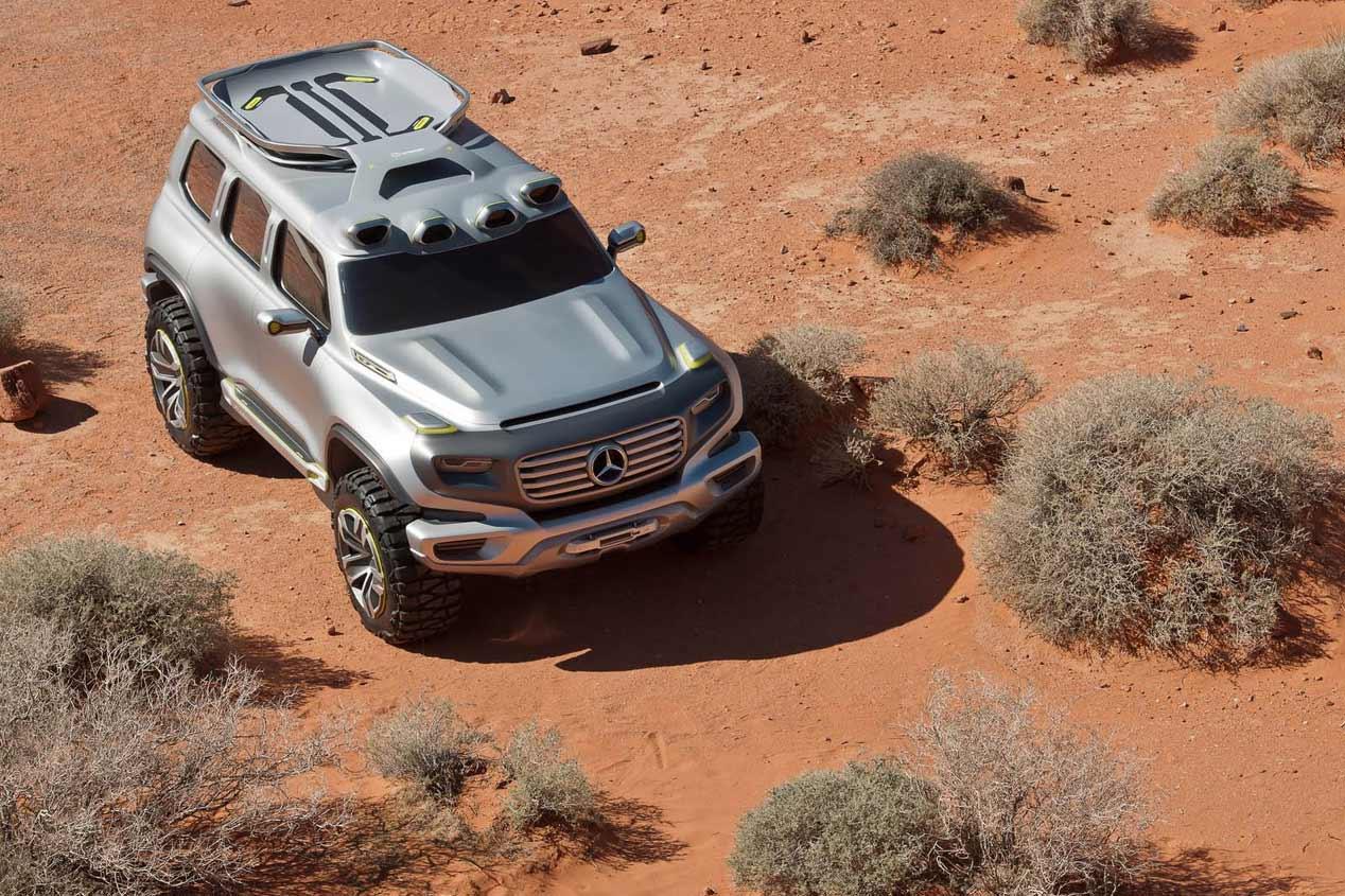 Nuevo Mercedes GLB, estará listo en 2018