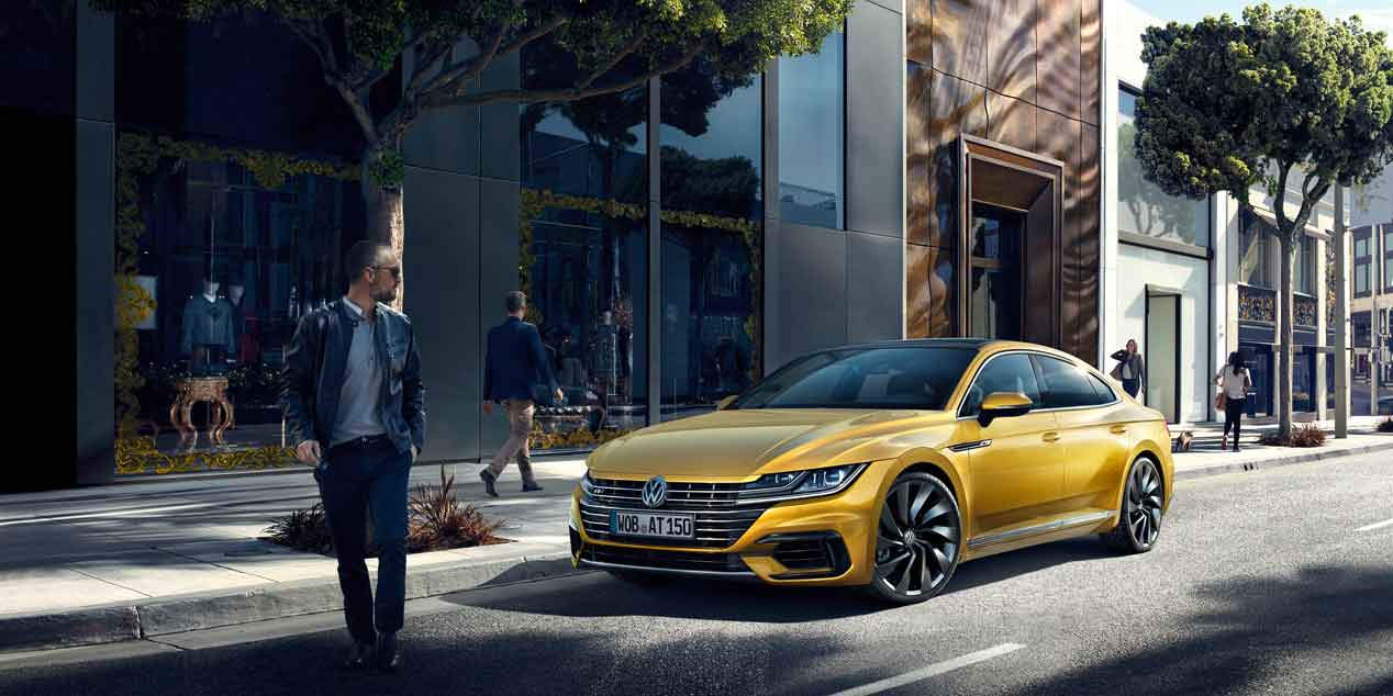 El nuevo Volkswagen Arteon, en fotos y vídeo