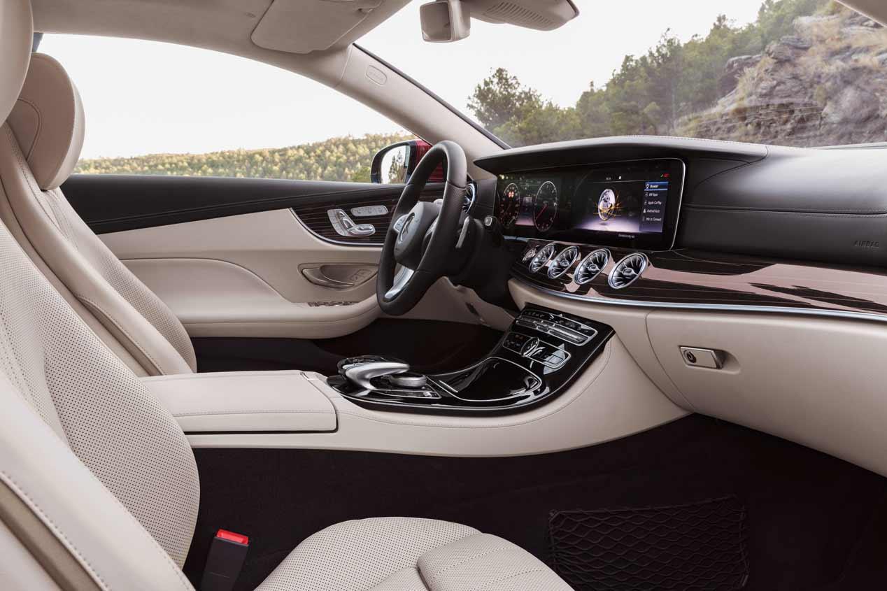 Mercedes Clase E Coupé 2017, a prueba