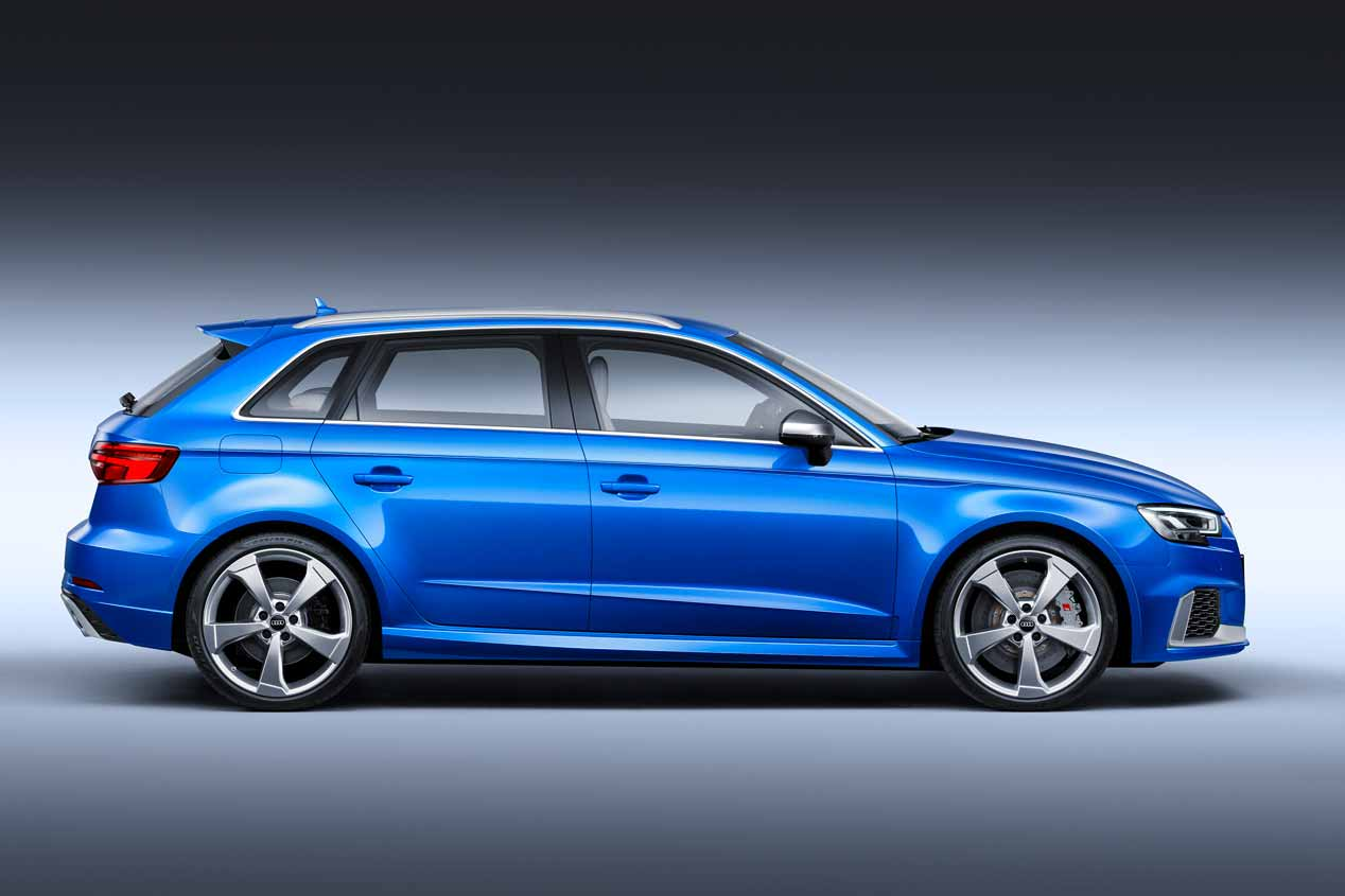 Nuevo Audi RS 3 Sportback, el  más potente de su historia