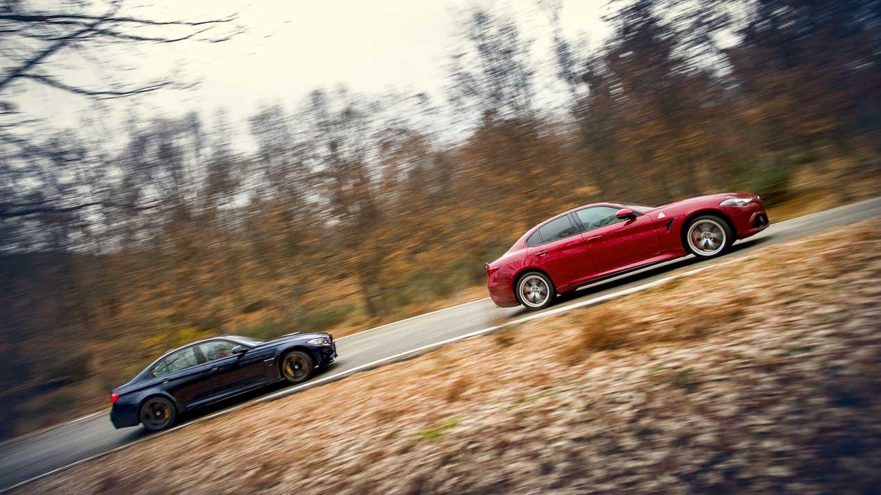 Comparativa: Alfa Romeo Giulia Quadrifoglio vs BMW M3