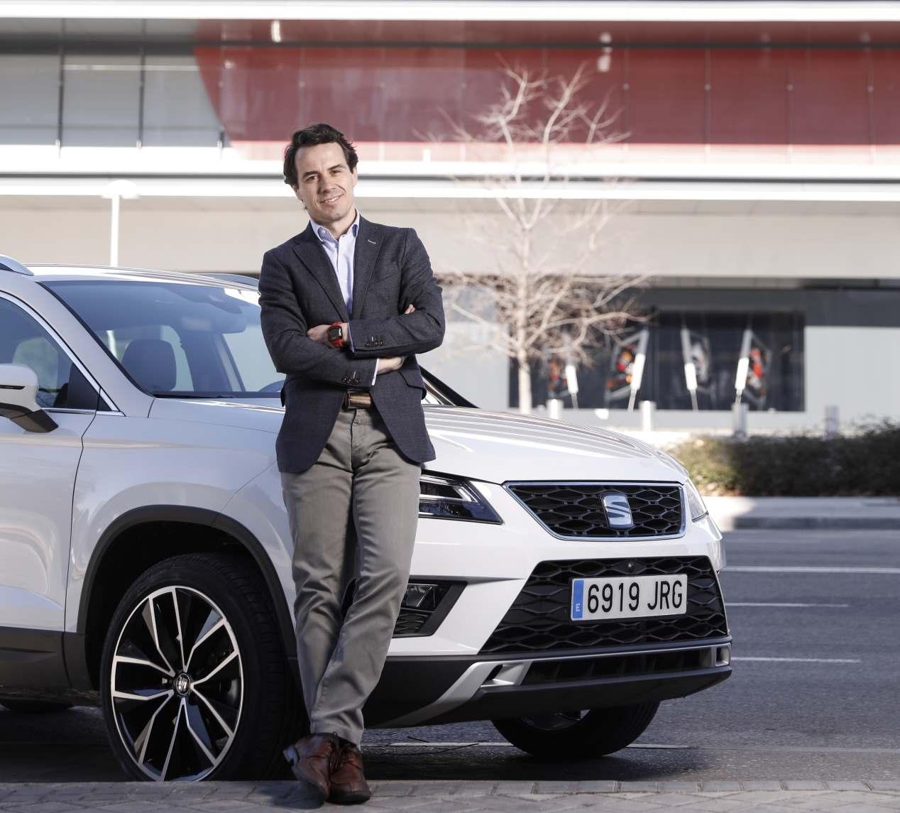 Hugo Berenguer y el SEAT Ateca
