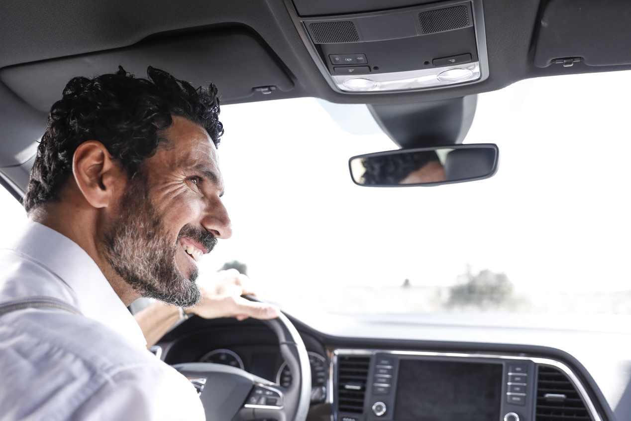 Óscar Higares y el SEAT Ateca