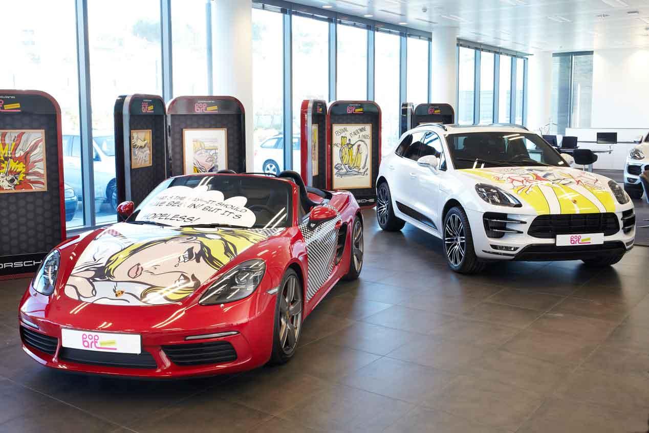 Porsche Pop Art, la exposición itinerante protagonizada este año por Roy Lichtenstein