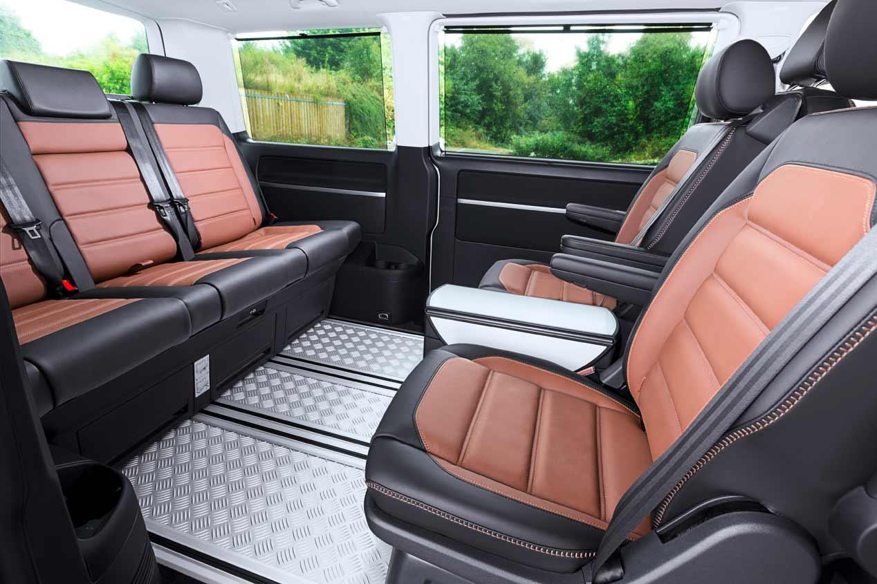 La Volkswagen Multivan Outdoor Panamericana, en fotos
