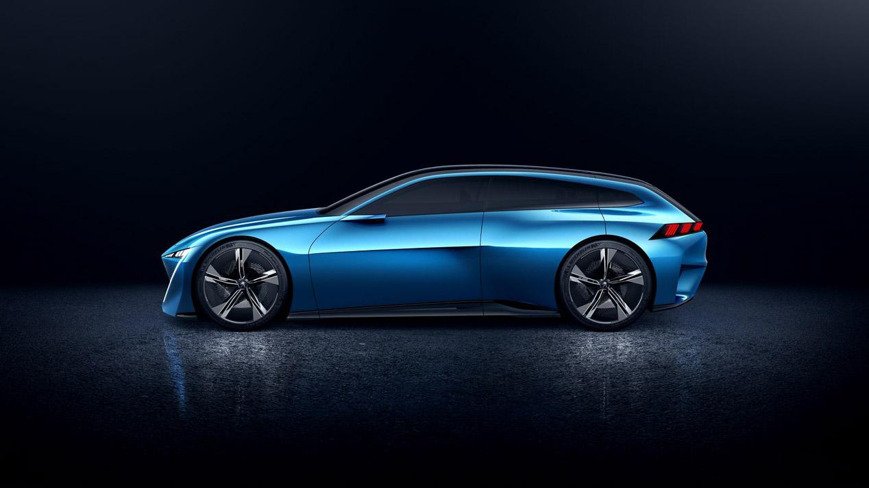Peugeot Instinct, la piel del futuro Peugeot 508