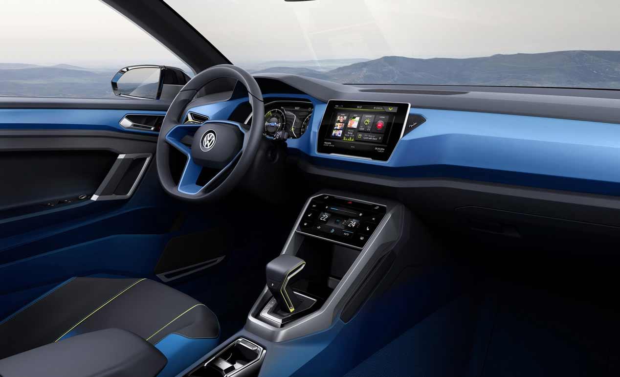 Resultado de imagen de Volkswagen T-Roc interior