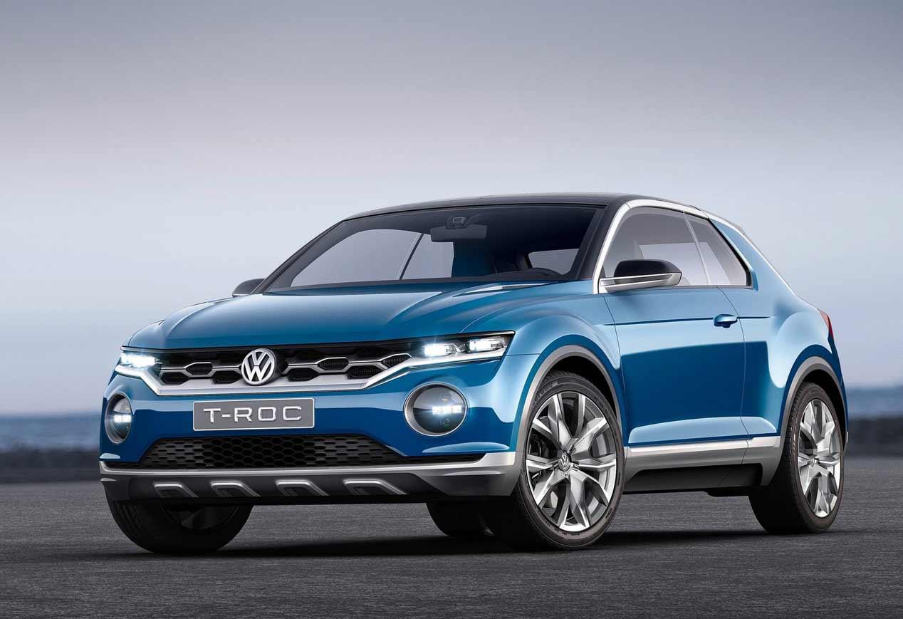 Volkswagen T-Roc, el Golf SUV, en el Salón de Frankfurt