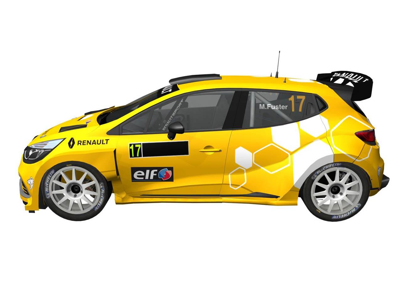 Planes deportivos de Renault España para la temporada 2017