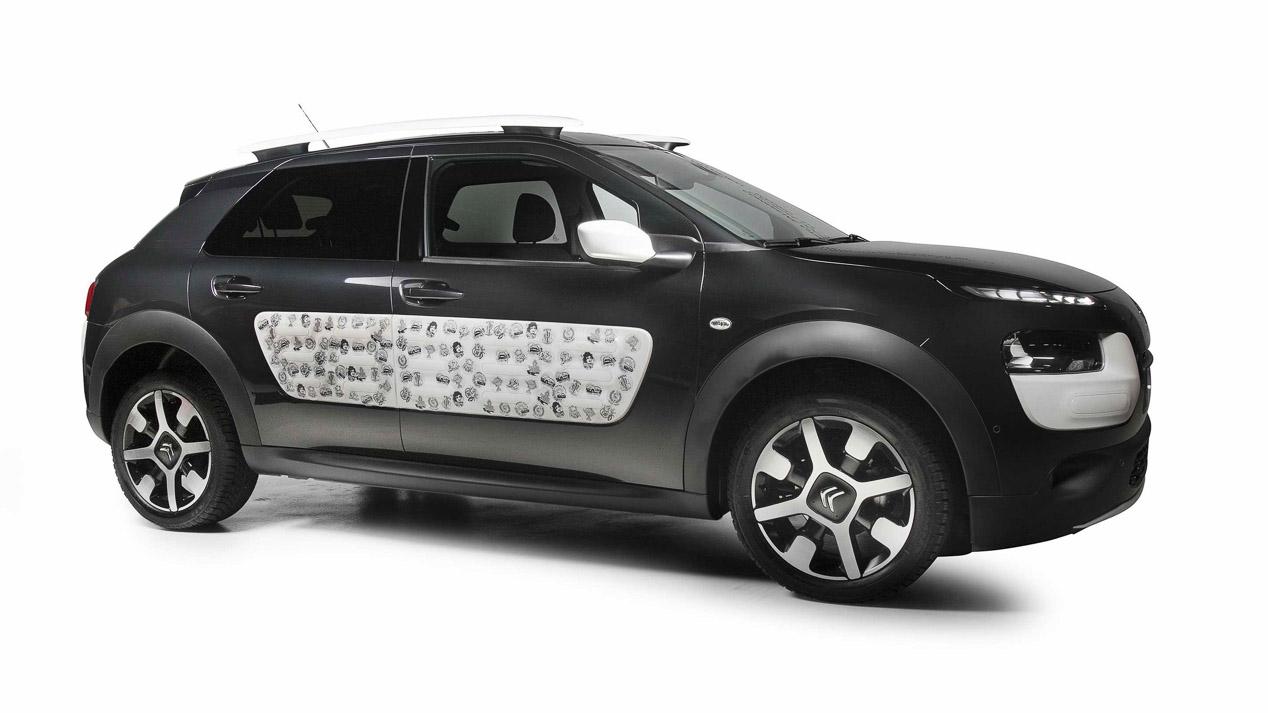 El Citroën C4 Cactus by Bnomio pasa por ser el primer coche tatuado