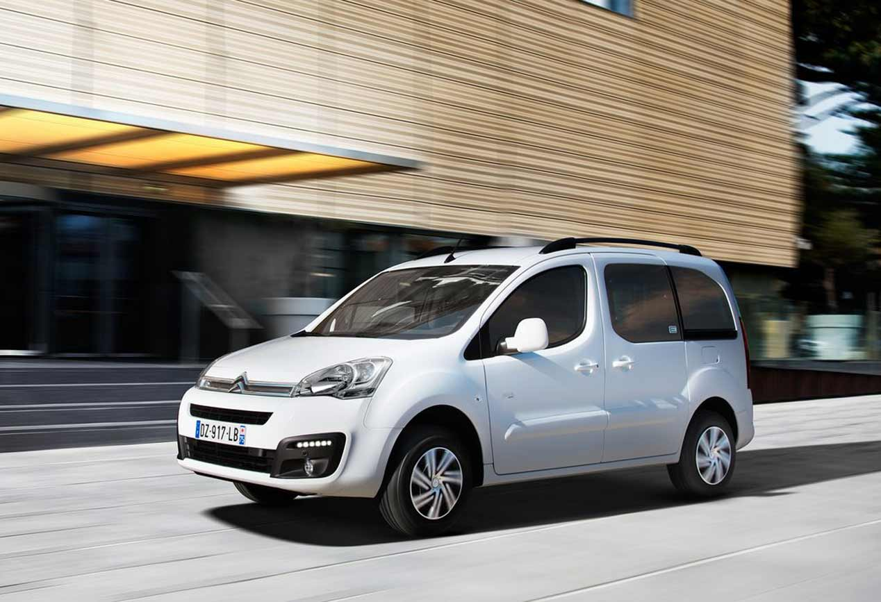 El Citroën E-Berlingo Multispace Eléctrico, en fotos