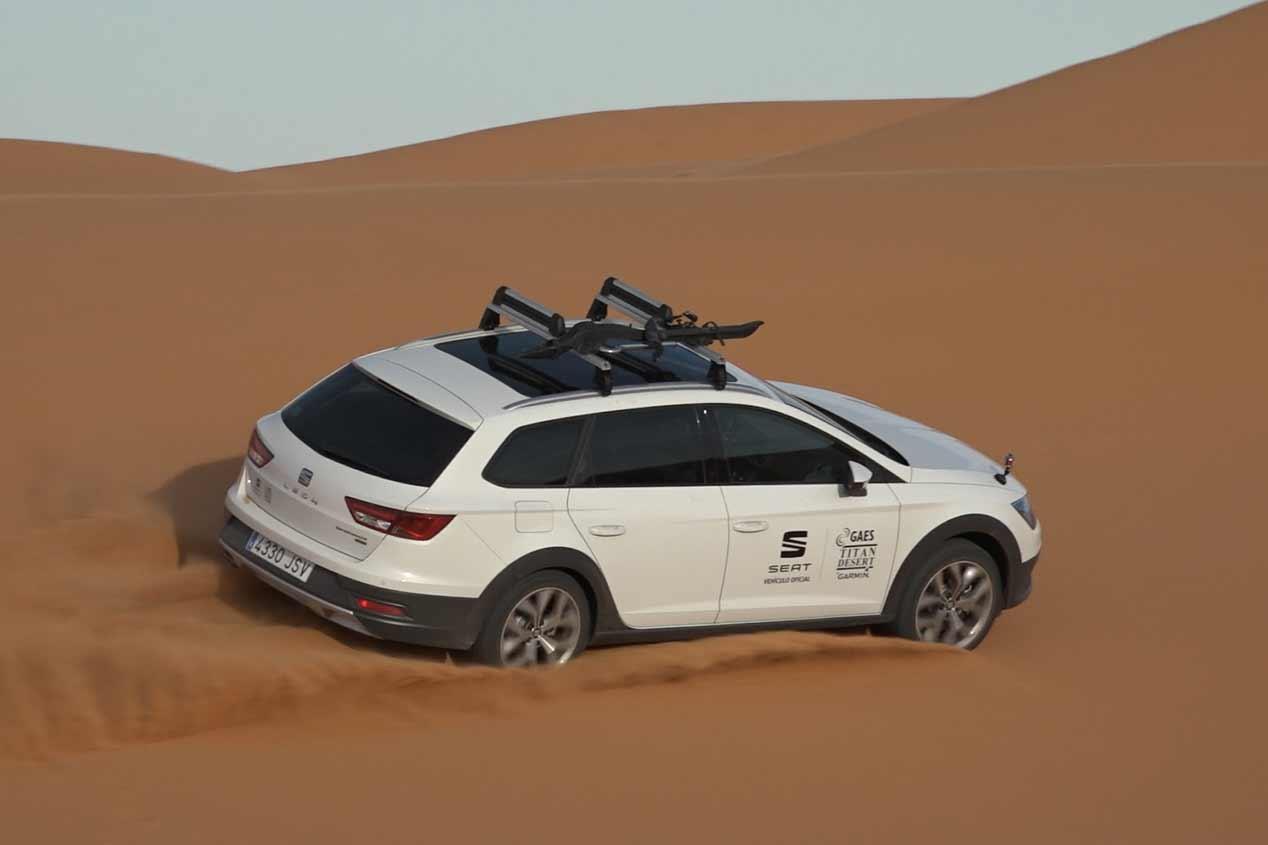 Seat León X-Perience Titan Desert, preparado para la aventura