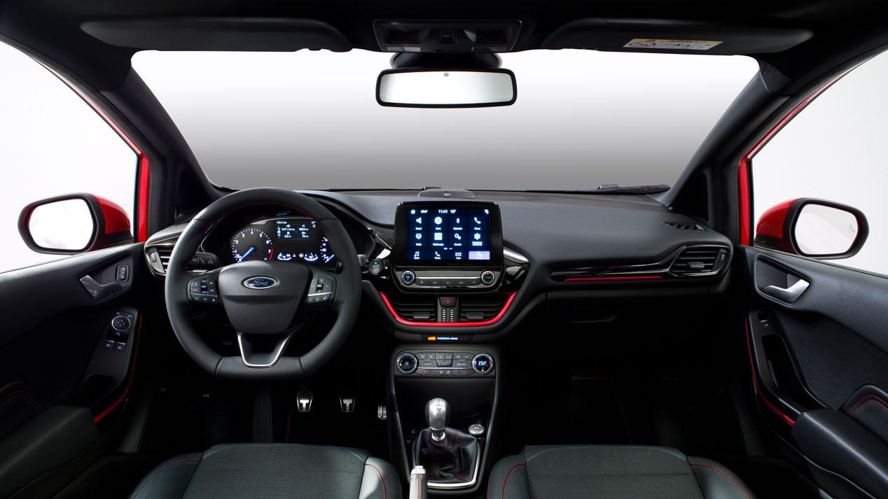 Nuevo Ford Fiesta, diseño interior