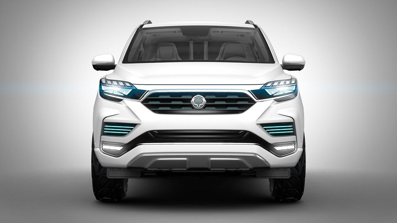 SsangYong Rexton: la cuarta generación de este SUV, a punto