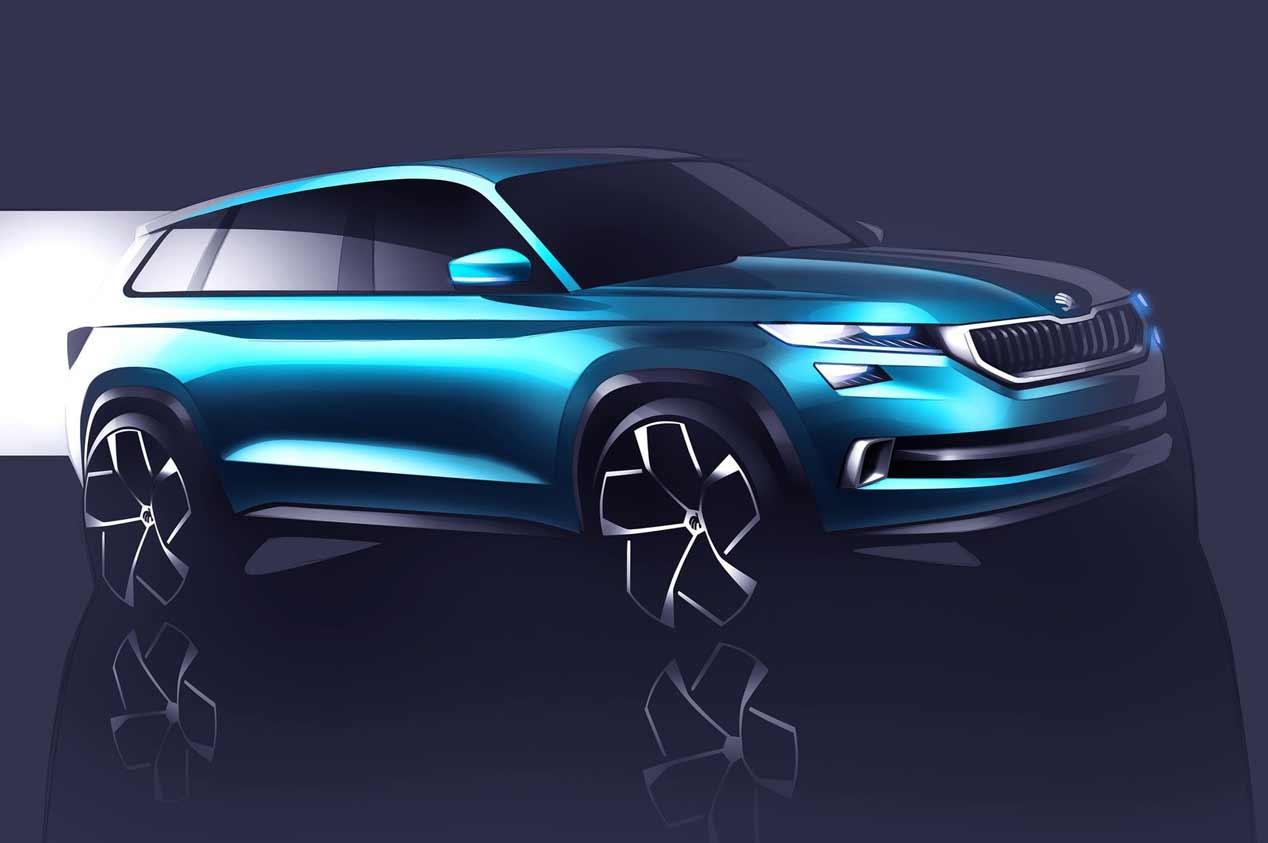 Skoda Vision E Concept: ¿Kodiaq Coupé o Kodiaq eléctrico?