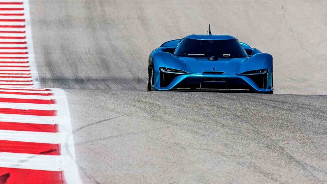 NIO EP9, el coche eléctrico y autónomo más rápido