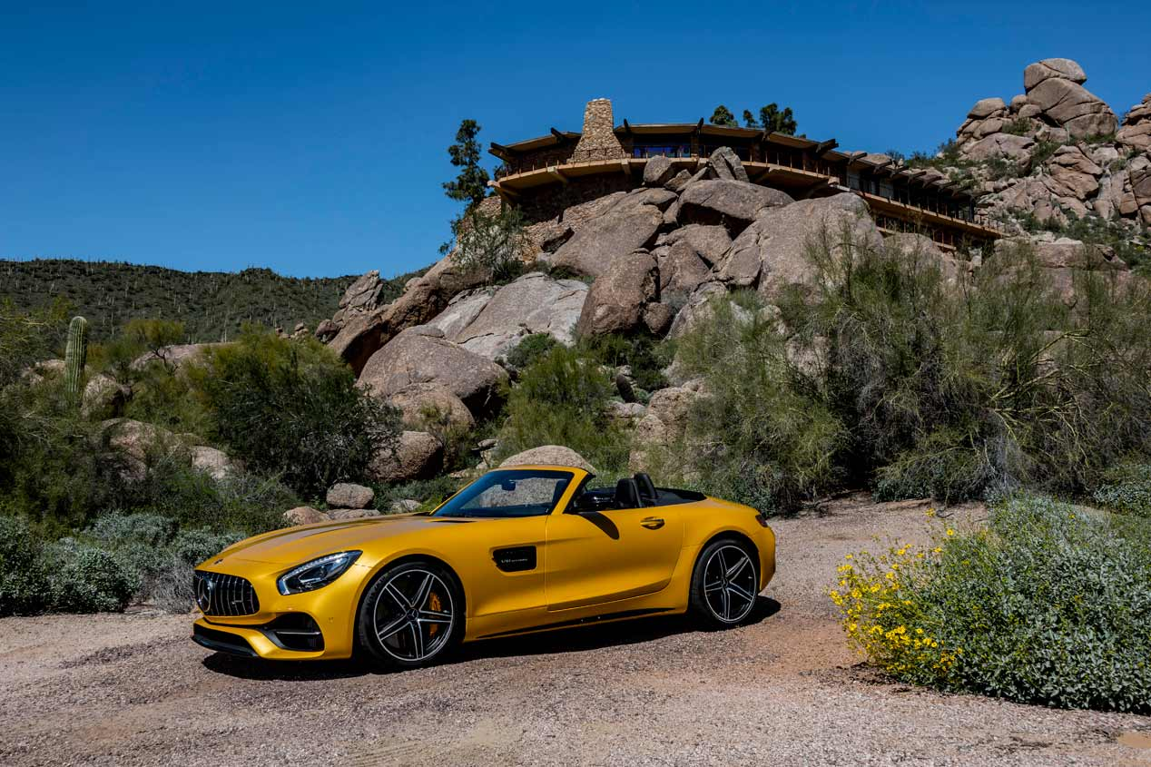 Mercedes-AMG GT C Roadster, a prueba