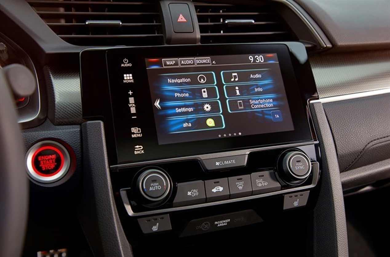 El sistema de conectividad My Honda, en imágenes