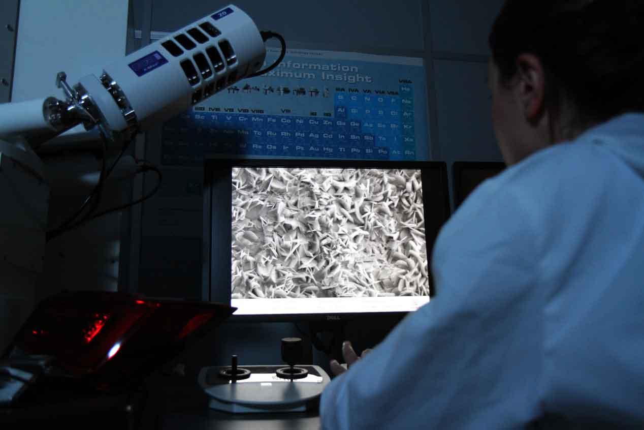 Un microscopio capaz de leer el 'ADN' de un Seat