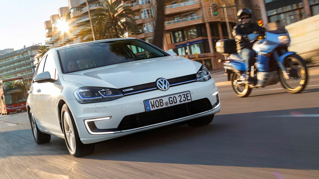 VW e-Golf y Golf GTE, probamos los Golf más eficientes