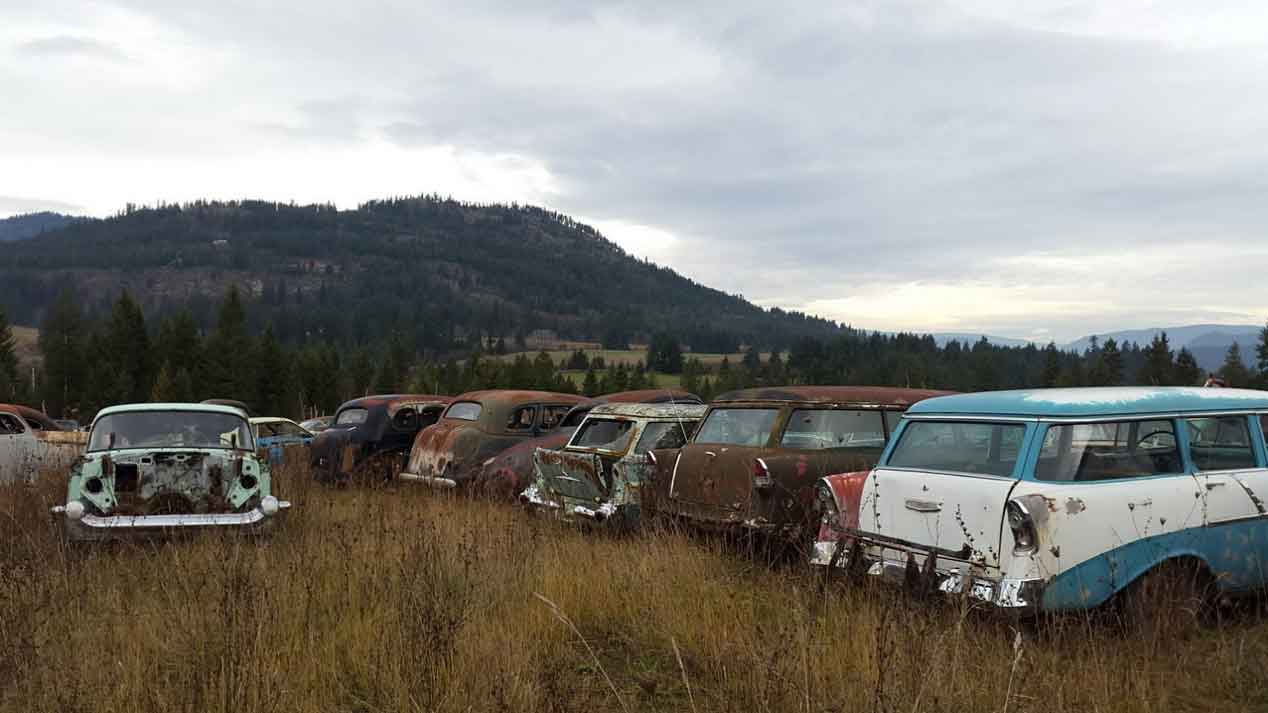 A la venta una casa con 340 coches