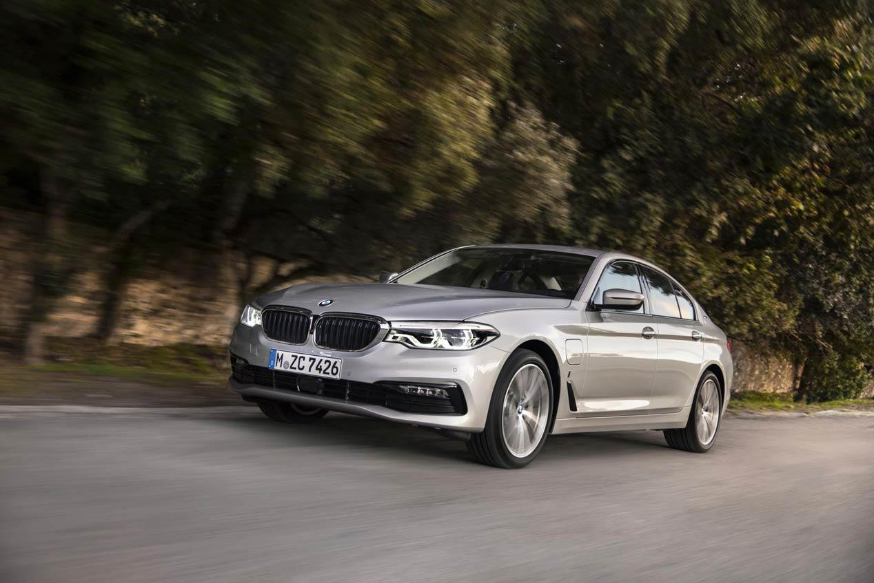 BMW 530e iPerformance, un nuevo híbrido enchufable