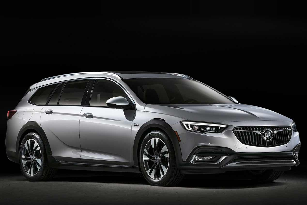 El Opel Insignia Country Tourer 2018, en fotos