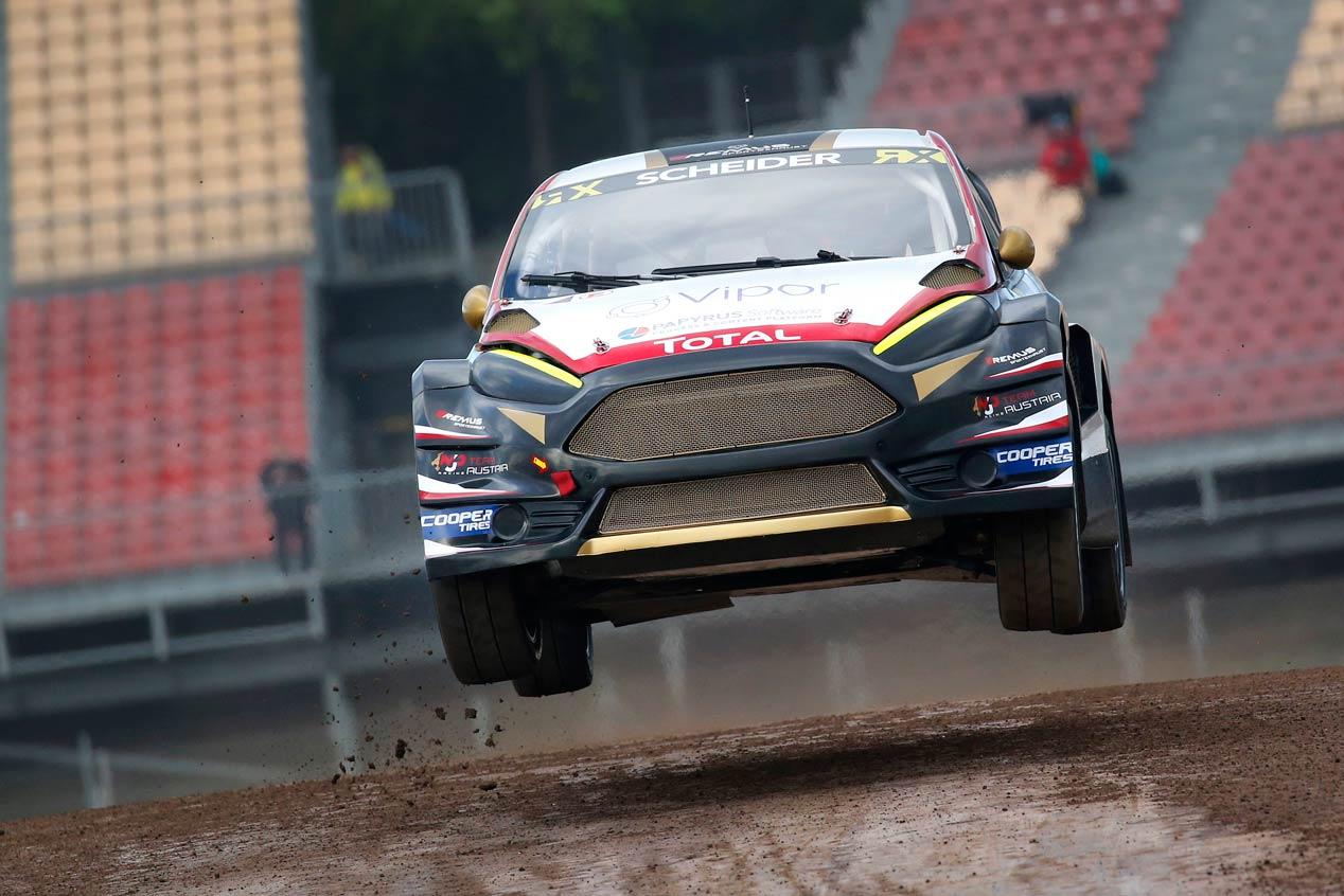 Las mejores imágenes del Rallycross en Barcelona