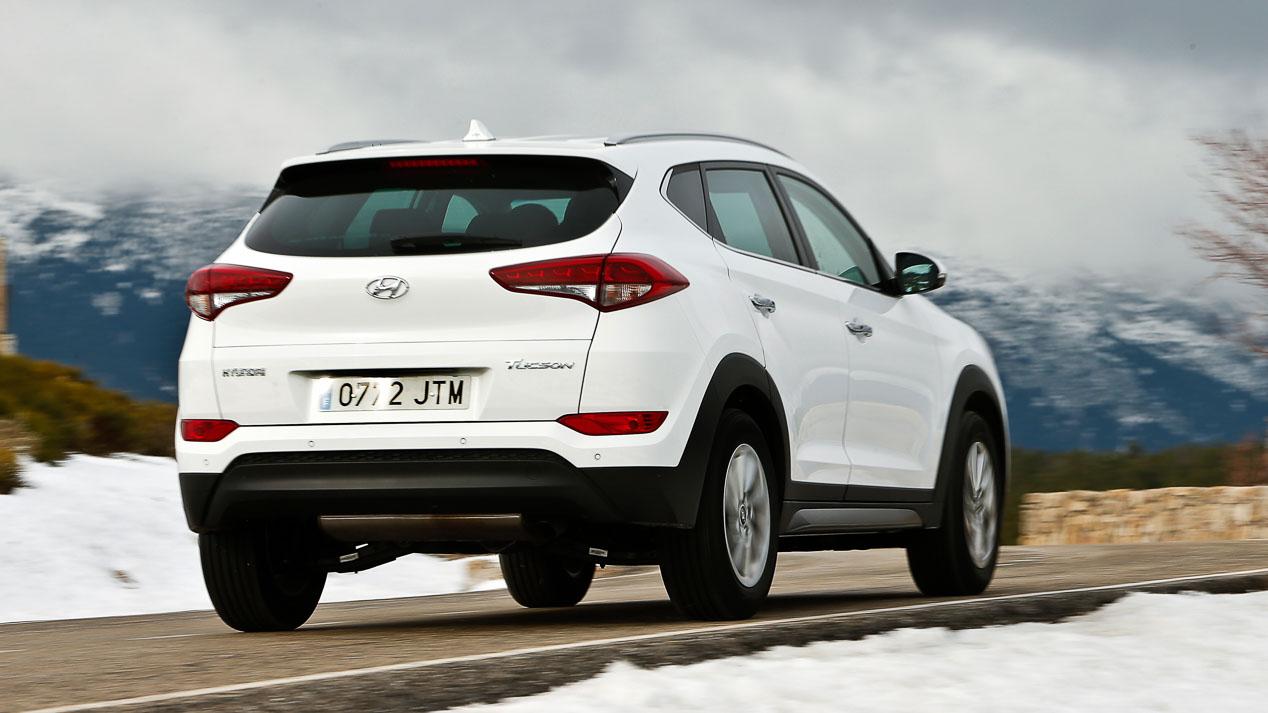Hyundai Tucson, el segundo SUV más vendido en marzo en España