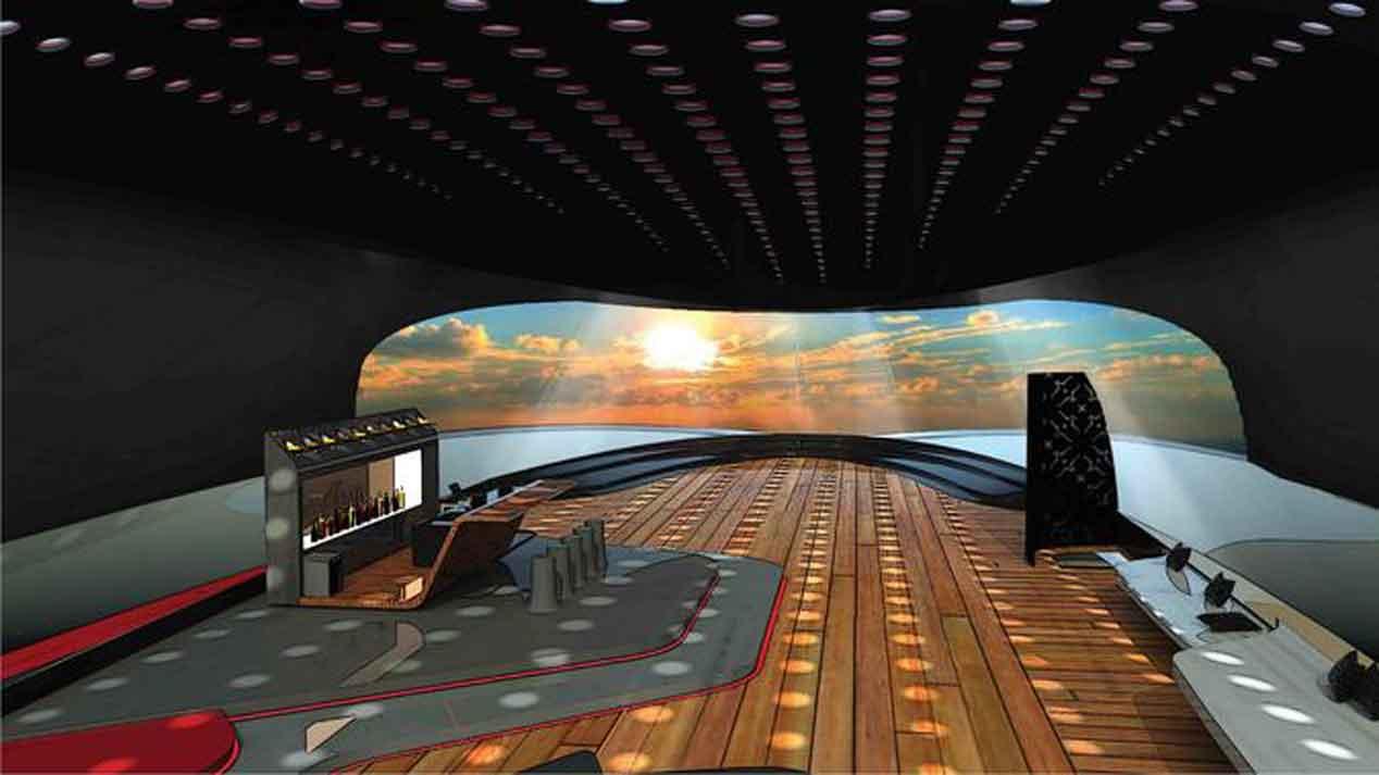 El Tesla hecho para navegar por el mar
