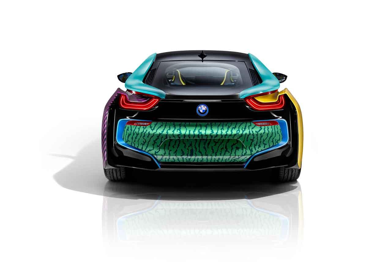 BMW i3 y BMW i8 MemphisStyle: buscando nuevos horizontes en el diseño de coches