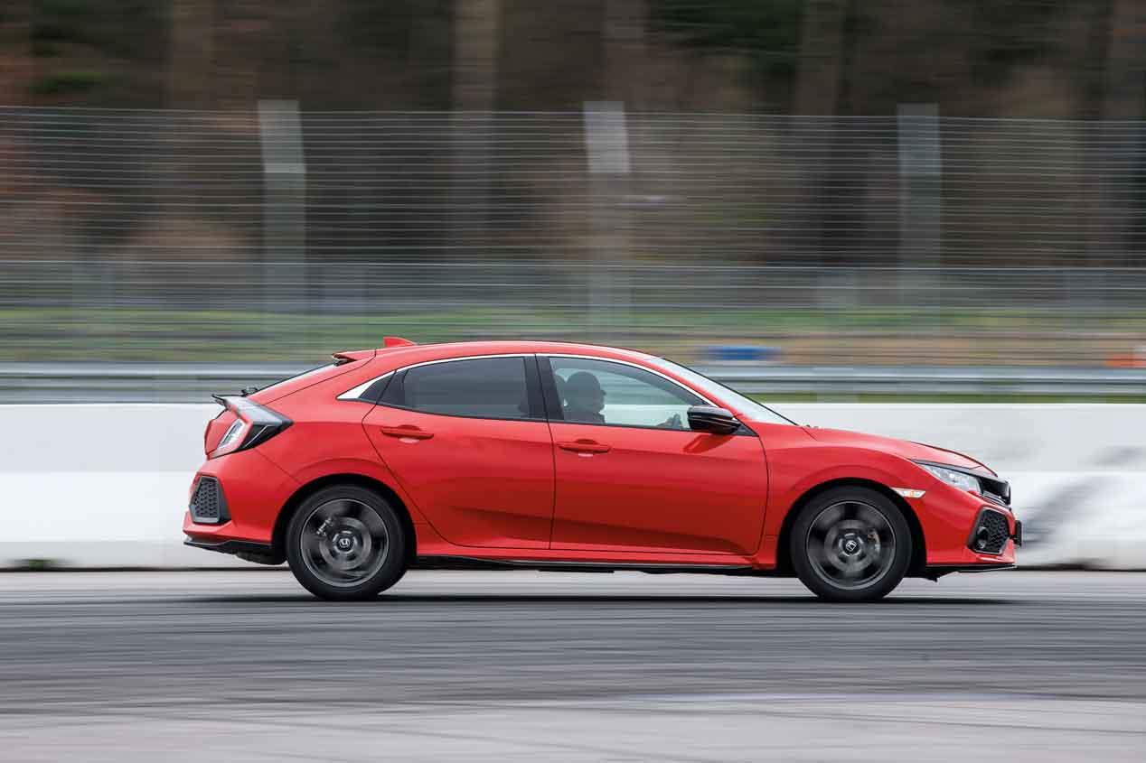 Todos contra todos: Honda Civic, Hyundai i30, Opel Astra y Volkswagen Golf  en un duelo de compactos