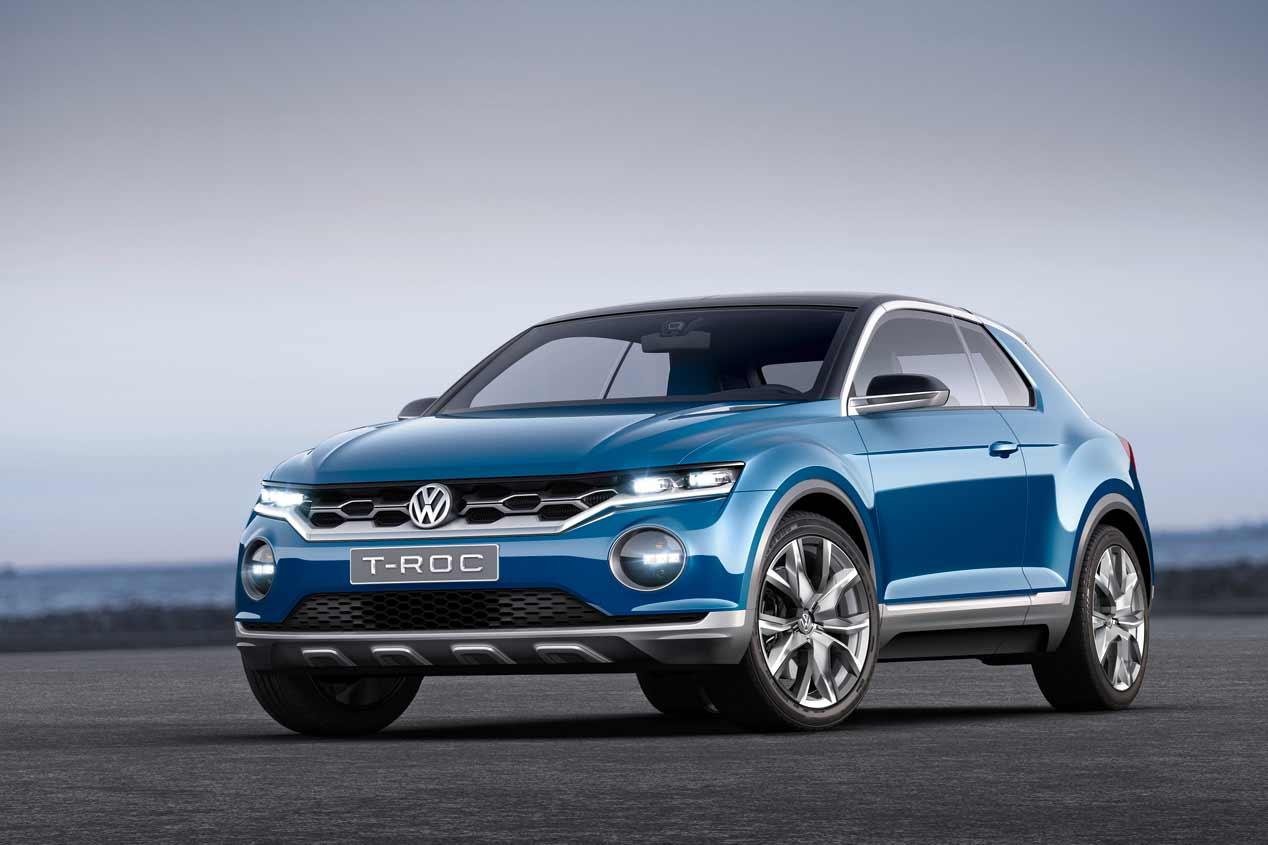 Volkswagen T Roc El Nuevo Suv De Vw Llegar 225 A Finales De