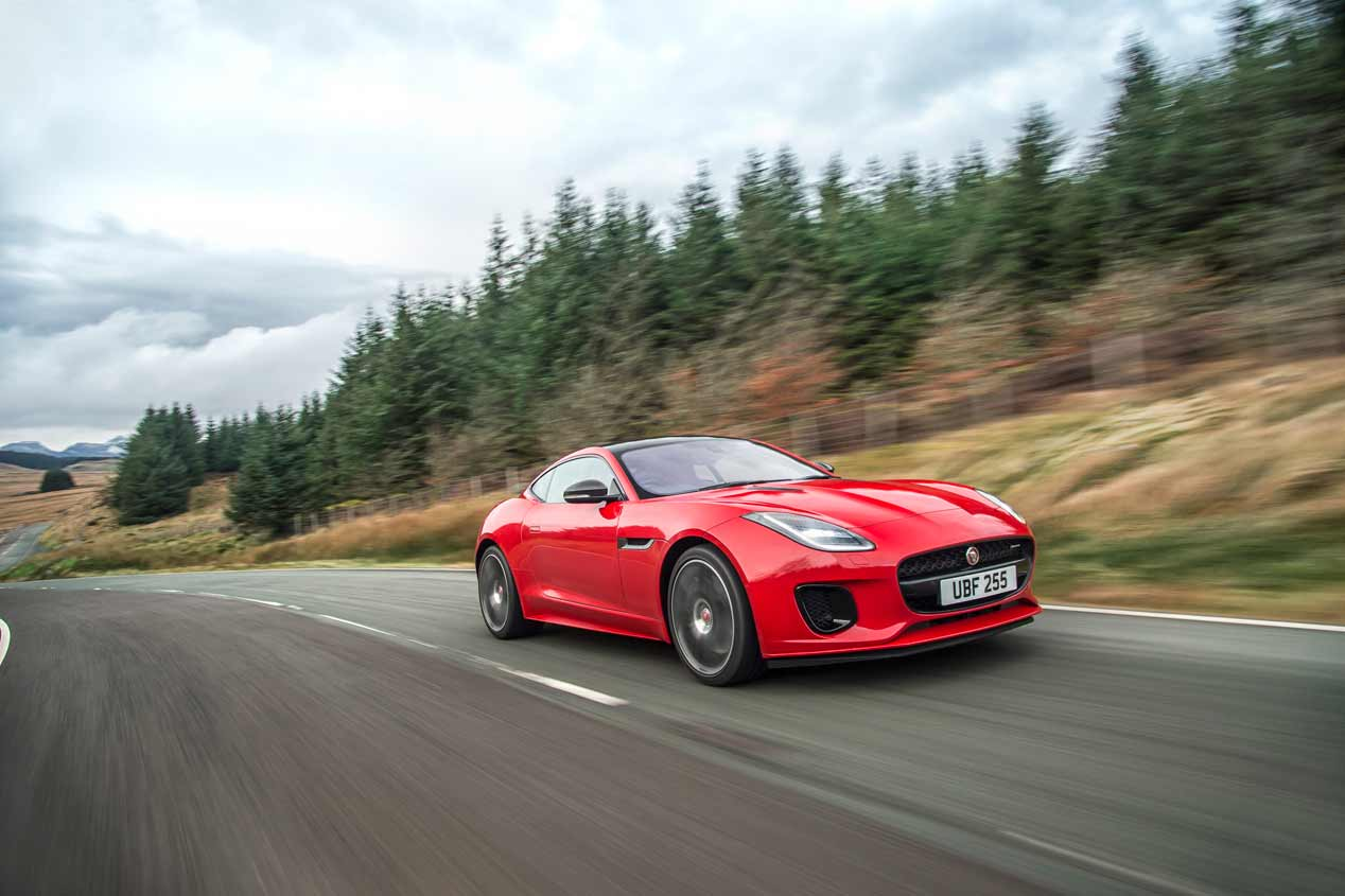 El Jaguar F-Type 2017, en fotos