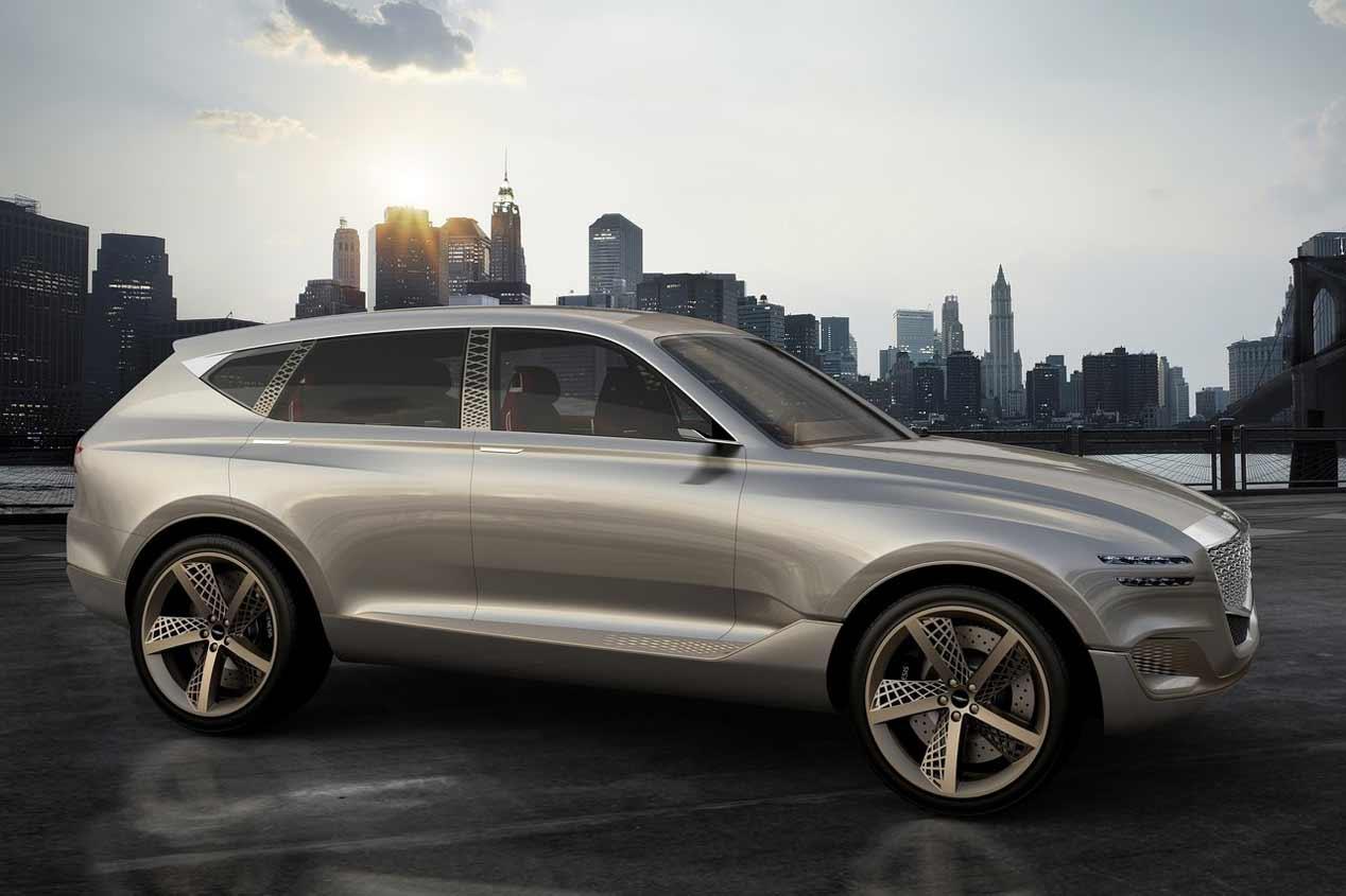Genesis GV80 Concept, nuevo SUV de lujo en el Salón de Nueva York