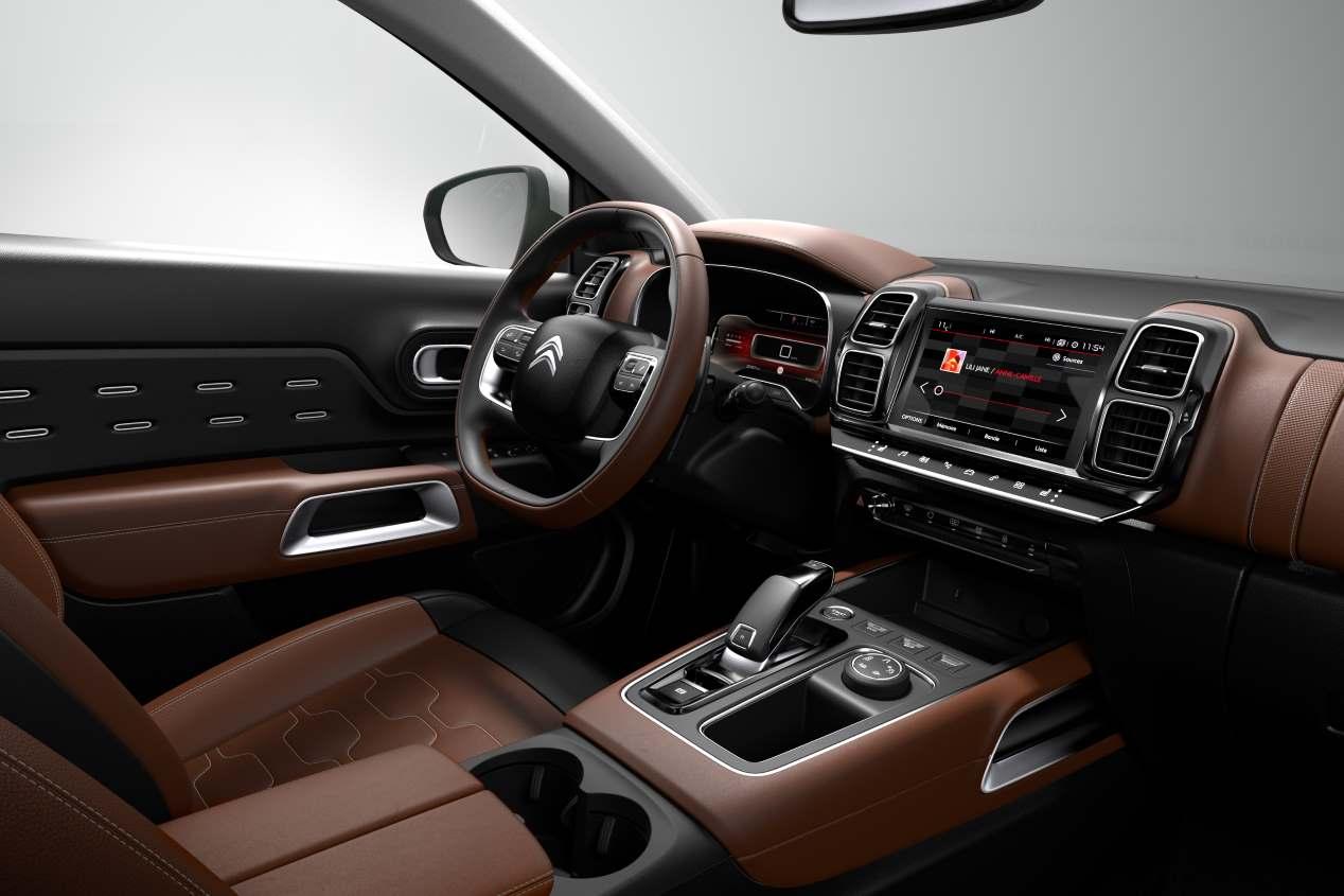 Citroën presenta un nuevo SUV: el C5 Aircross