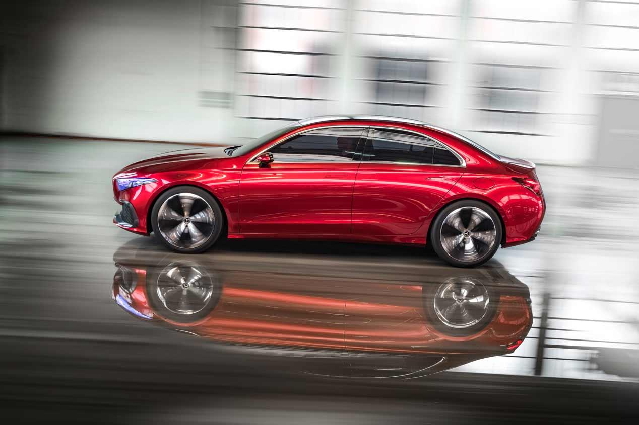Mercedes Concept A Sedán: la base de los coches compactos de Mercedes