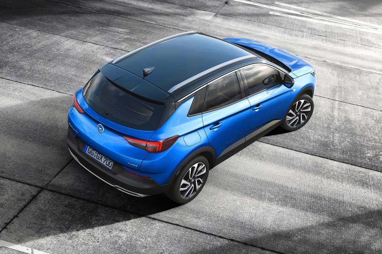 Opel desvela oficialmente un nuevo SUV, el Grandland X