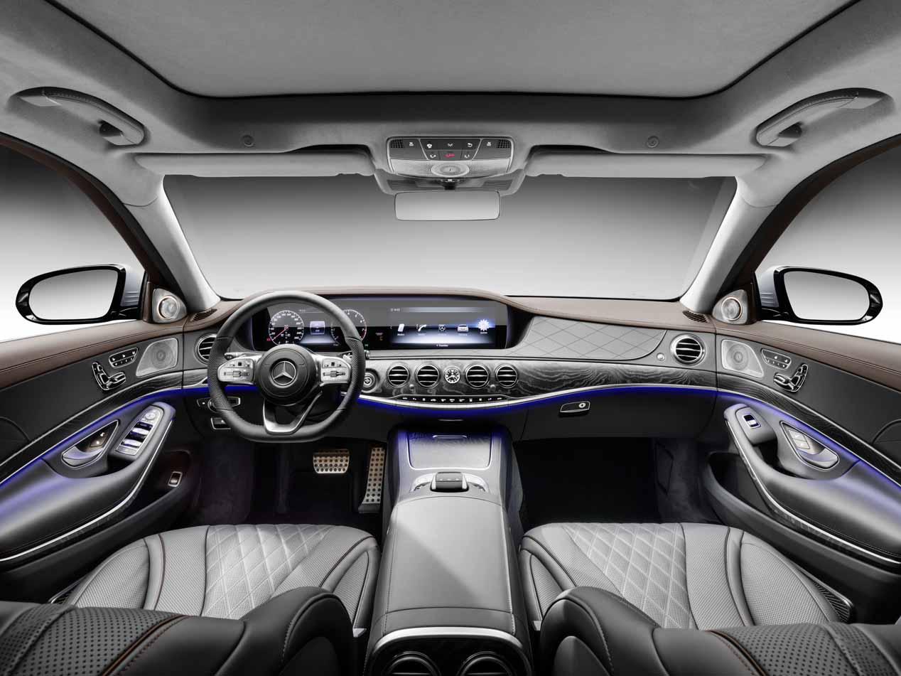 Mercedes Clase S 2017: más asistentes, nuevos motores